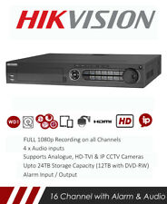 Hikvision DS-7316HQHI-K4 Turbo HD DVR CCTV Real Time 1080p Recorder with Network