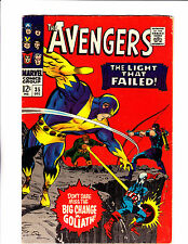 """Avengers  No.34    : 1966 :    : """"The Light That Failed!"""" :"""