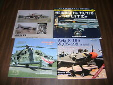 Heinkel He 70/170: Blitz Plus 3 more books  ****LOOK****