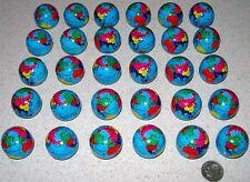 30 Earth Day Metal World Mini Globes Gumball Size