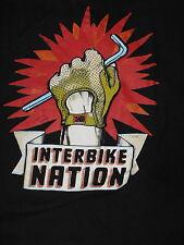 """Interbike Nation"" T-Shirt Great Cycling Image (2XL)"