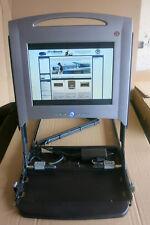 """Dell PowerEdge 15FP 1U RACK MOUNT KVM Schermo Monitor LCD TFT da 15"""" server NO RAILS"""