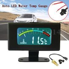 12V / 24V Car LCD Digital Display Water Temp Temperature Gauge Tank -10℃ ~100℃