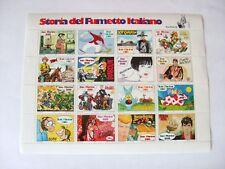 Francobolli la Storia del Fumetto Italiano S.Marino 1997