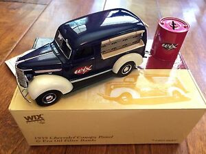 *WIX Filters 1939 Chevrolet Canopy Panel and Era Oil Filter Bank NIB first gear