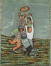 GRACIELA RODO BOULANGER - Original Lithograph - Children Playing Ball - Signed