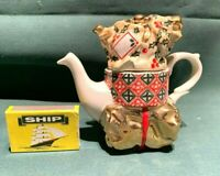 "cardew design teapot  ""christmas parcels"" one cup  2010"
