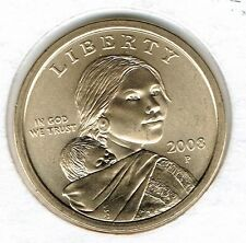 2008-P $1 Satin Finish (Special Strike) From Mint Set Sacagawea Dollar Coin!