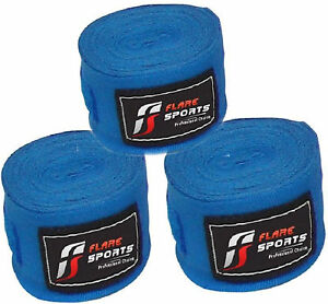 Flare Hand Wrist Wrap Boxing Tape Weight Lifting Mexican Stretch Strap 4.5m each