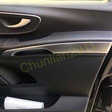 Interior Front Door Armrest Stripe Cover Trim for 14-17 Mercedes-Benz Vito abs
