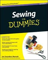 Sewing for Dummies (3rd Revised edition)  BOOK NEU