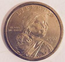 "2002-D  SACAGAWEA GOLDEN DOLLAR  ""UNCIRCULATED""  ROLL (25) IN TUBE"