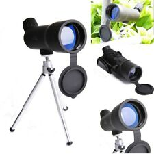 20x50 Spotting Scope Watching Watch Birds Monocular With Tripod Black