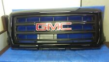 GMC SIERRA 2014-2015 FRONT BLACK GRILLE GRILL with emblem OEM