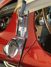 Wind-wing Sunvisor Trim Kits Black Fits Superformance Cobras, Factory Five Cobra