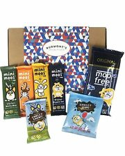 Moo Free Chocolate Selection Hamper Box - Dairy & Gluten Free, Vegan & Organic