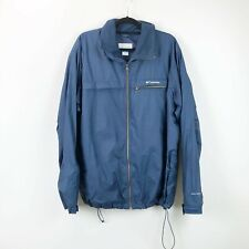 Columbia XL Mens Blue Full-zip Puffer Jacket