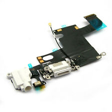 5 X  White Charging Port Dock Headphone Audio Flex Cable  For  iPhone 6 6G 4.7""