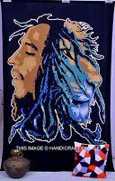 Bob Marley Tapestry Hippie Wall Hanging Twin Indian Mandala Bedspread Handmade