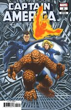 CAPTAIN AMERICA # 2 CHAREST RETURN OF FANTASTIC FOUR VARIANT SOLD OUT !!!!