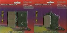 Praga Disc Brake Pads Supermotard 610 2003 Front & Rear (2 sets)