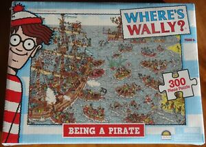 Where's Wally? Jigsaw Puzzle - Being A Pirate - 300 pieces - New and Sealed -