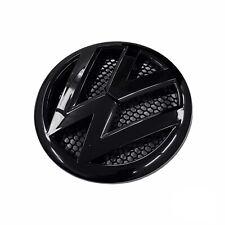 FRONT GRILLE BADGE FOR VW TRANSPORTER T5.1 POST 2010 FACELIFT 170mm GLOSS BLACK