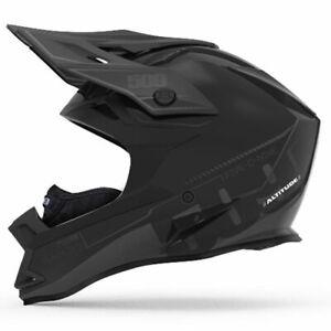 509 Altitude Black Ops w/ Fidlock Snowmobile Helmet, 509-HEL-ABOF8