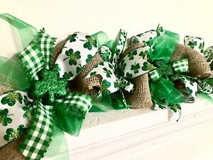 St.Patrick's Day garland, St.Patrick's Day decor, St.Patrick's Day decorations
