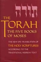 Torah : The 5 Books of Moses, Paperback, Brand New, Free shipping in the US