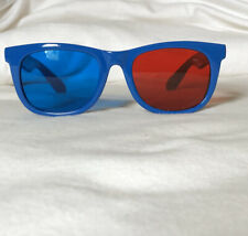 2 Pack Red-Blue 3D Glasses/Cyan Anaglyph Fashion Style 3D Glasses 3D Movie Game