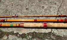 Vintage split cane fishing rod Craftsman/Rushton by F.T Williams