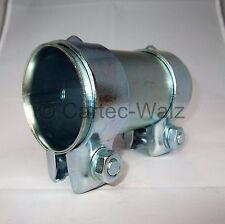 Conector Del Tubo de escape / abrazadera doble 48 X 125mm para Por Ejemplo: VW ,