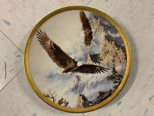 1993 Lenox Decorative Plate Soaring the Peaks Kelley Eagle Conservation A4569