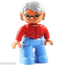 LEGO® Duplo Dame Oma Figur 47394pb123 grandma granny lady NEU