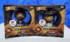 Funko Dorbz Walking Dead Negan Carl Walgreens Exclusive Vinyl Figure # 340 / 341