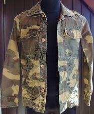 neu Original BAR ROYAL by SCOTCH & SODA Gr. S - 46 Fieldjacket Jacke Camouflage
