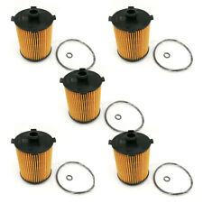 5x New Engine Oil Filter #31372212 For: volvo 2015-2017 S60 S80 V60 XC60 XC70