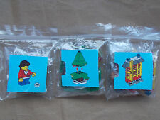 NEW LEGO CITY CHRISTMAS SCENE GIRLS WINTER CHRISTMAS SKI TRIP - GIRL SKIS & TREE