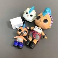 Untrl Rare REAL Original Doll & Pet & Lil LOL Surprise PUNK BOI BOY Jouets
