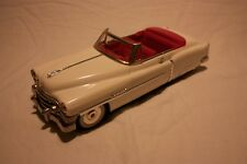 FIFTIES TIN 50's Cadillac Convertible Open ElDorado Die-Cast Mint Boxed 1:18