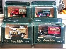 4 Ertl Anheuser Busch Delivery Classic Vehicles 1:43 Die Cast Metal