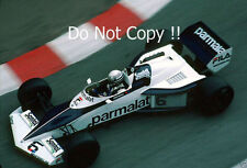 Riccardo Patrese Brabham BT52 Monaco Grand Prix 1983 Photograph 3