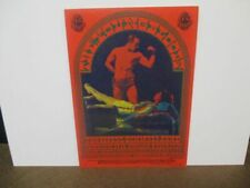 The Youngbloods Fillmore Postcard Near Mint Moscoso Art