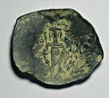 Empire of Nicaea, Theodore I, c. 1205-21 AD, billon trachy, Sear 2062