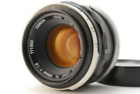 Exc+++++ / CANON FL 50mm f/1.8 SLR 35mm film camera Lens from Japan