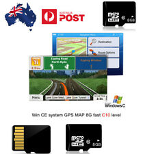 Car WinCE GPS Navigation Device 8G SD/TF Card MTK Main Chip AU Map (AU Stock)