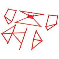 Arrma ARA480029 Roll Cage Red
