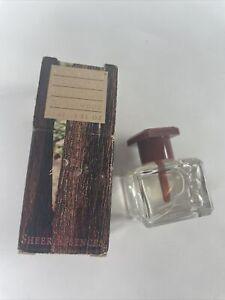 Retired Avon Sheer Essence Sandalwood Perfume Oil .5 fl oz