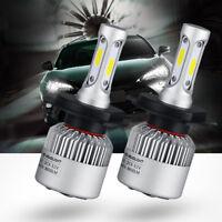NEW 9003 72W H4 LED Headlight Light Car 6000K White Hi/Lo Beams 8000LM Bulbs
